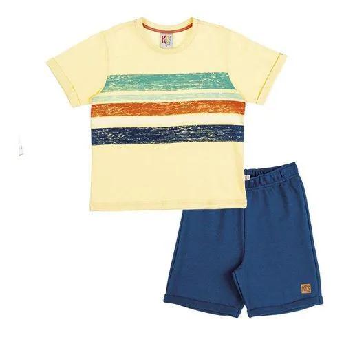 Conjunto Masculino Kids Clube 503910015 Amarelo