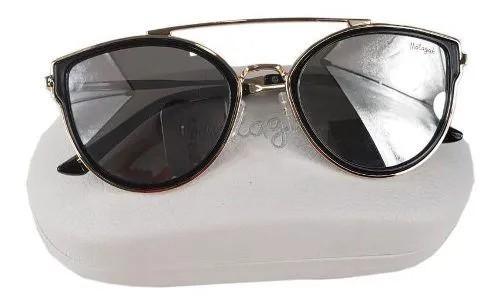 Óculos Feminino Málagah 3.03.560028 Preto