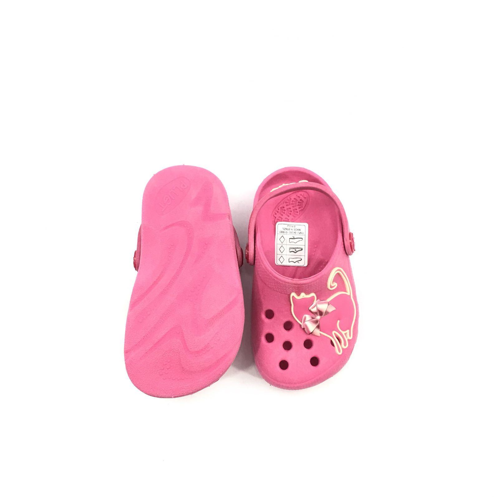5cbc3bb2fb sandalia crocs infantil rosa babuche Feminina Plugt