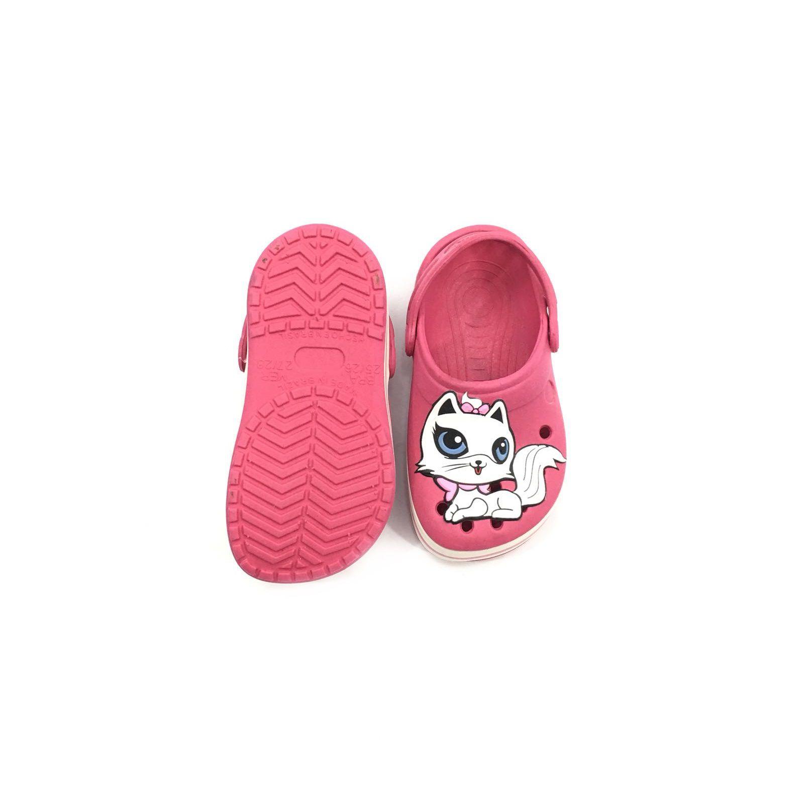 0913d89b92 sandalia crocs infantil rosa babuche Feminina Yuupiii Gatinha