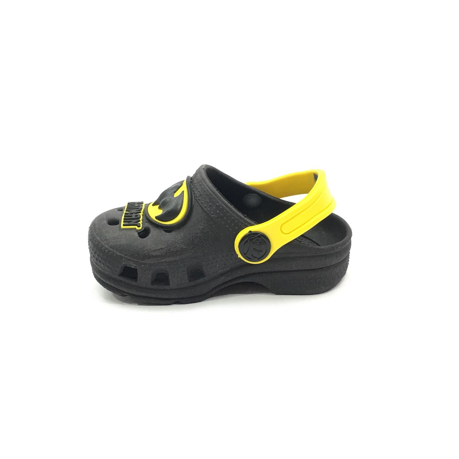 770907354e sandalia crocs infantil preto batman babuche Masculino Plugt
