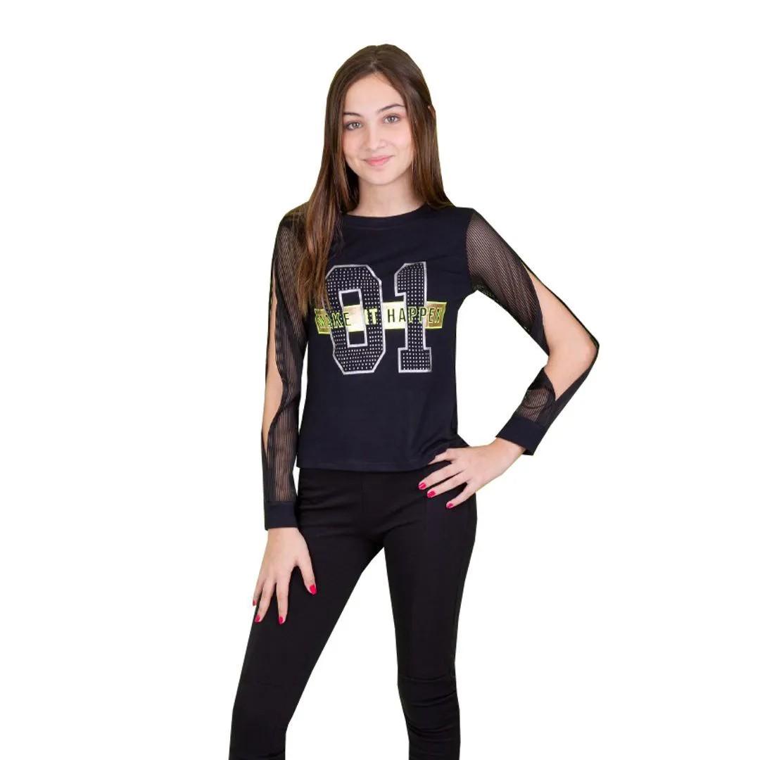Blusa Feminina Garotada 02238