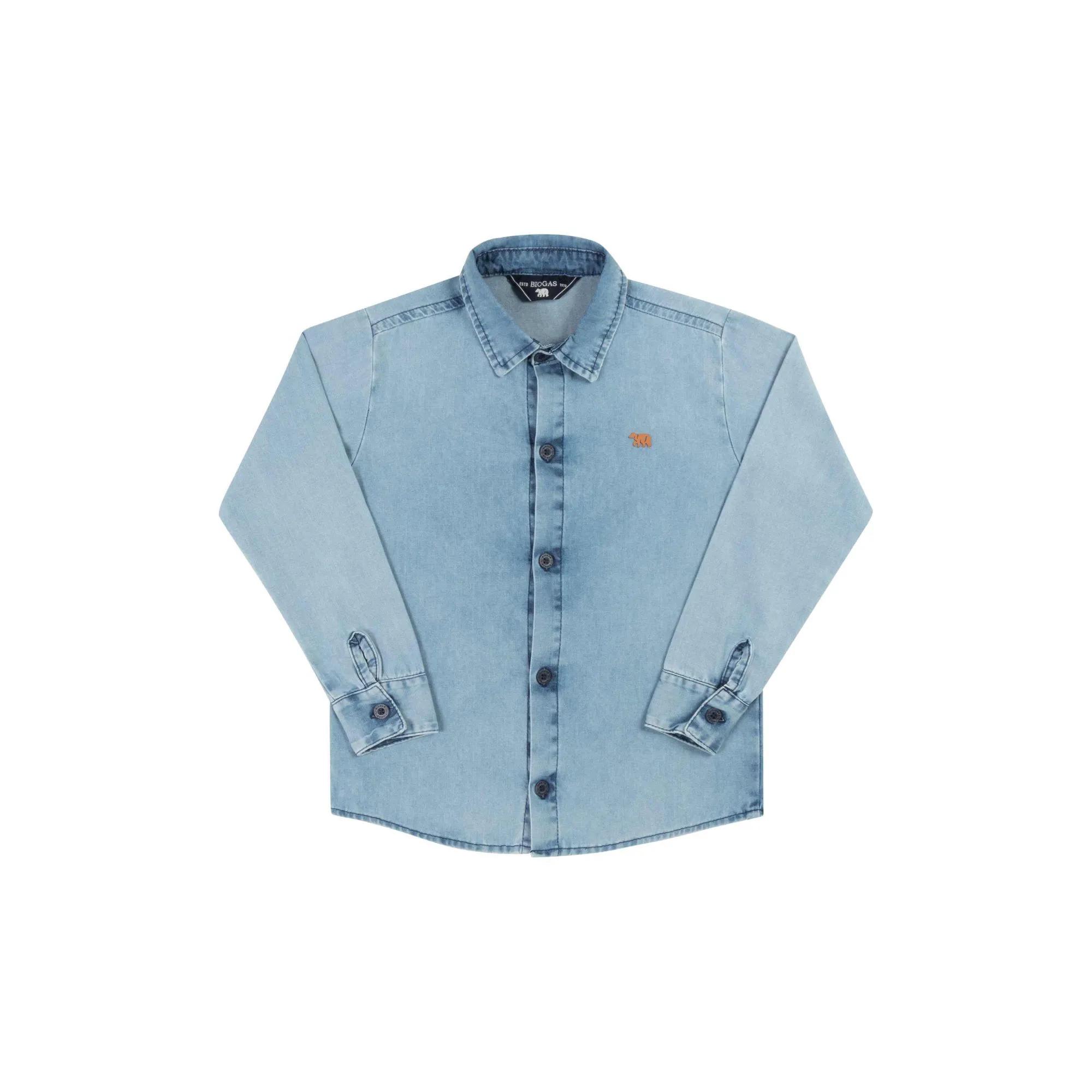Camisa Masculina Biogas 22805