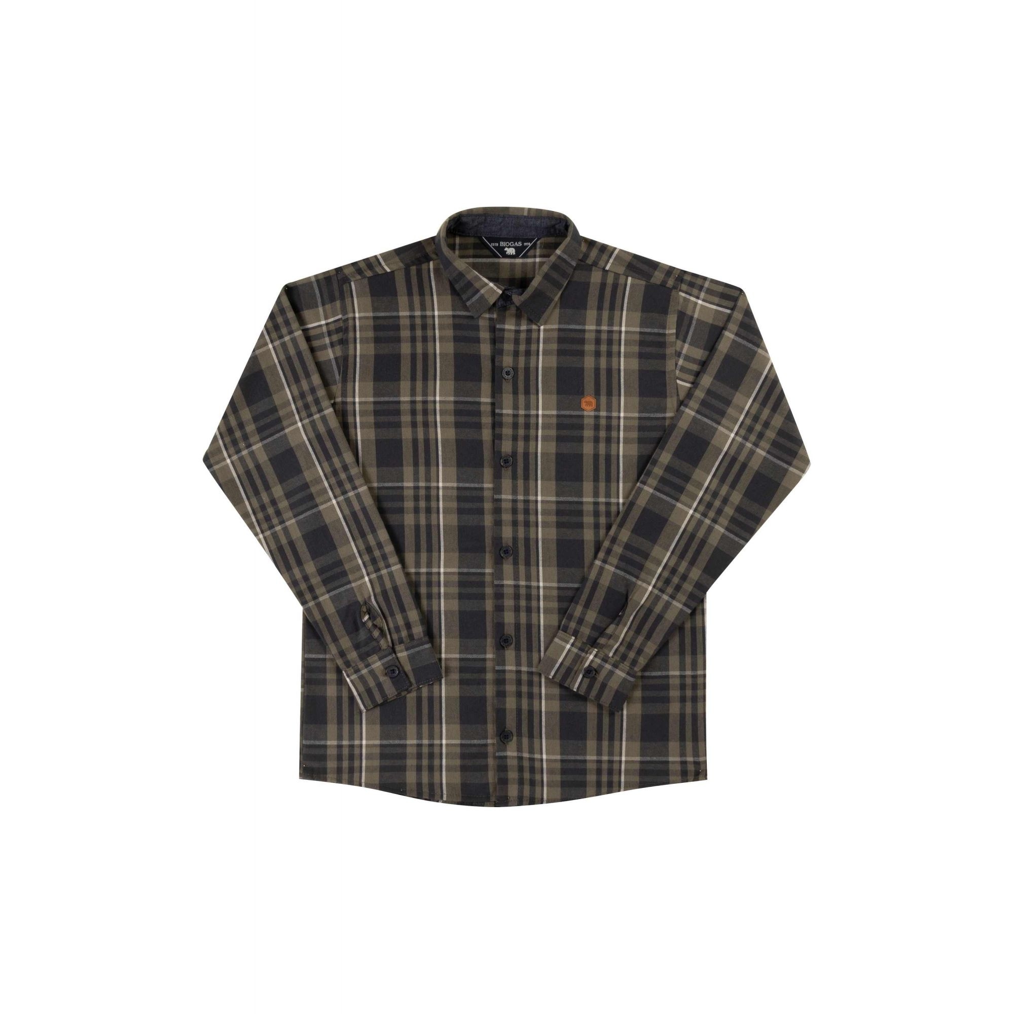 Camisa Masculina Biogas