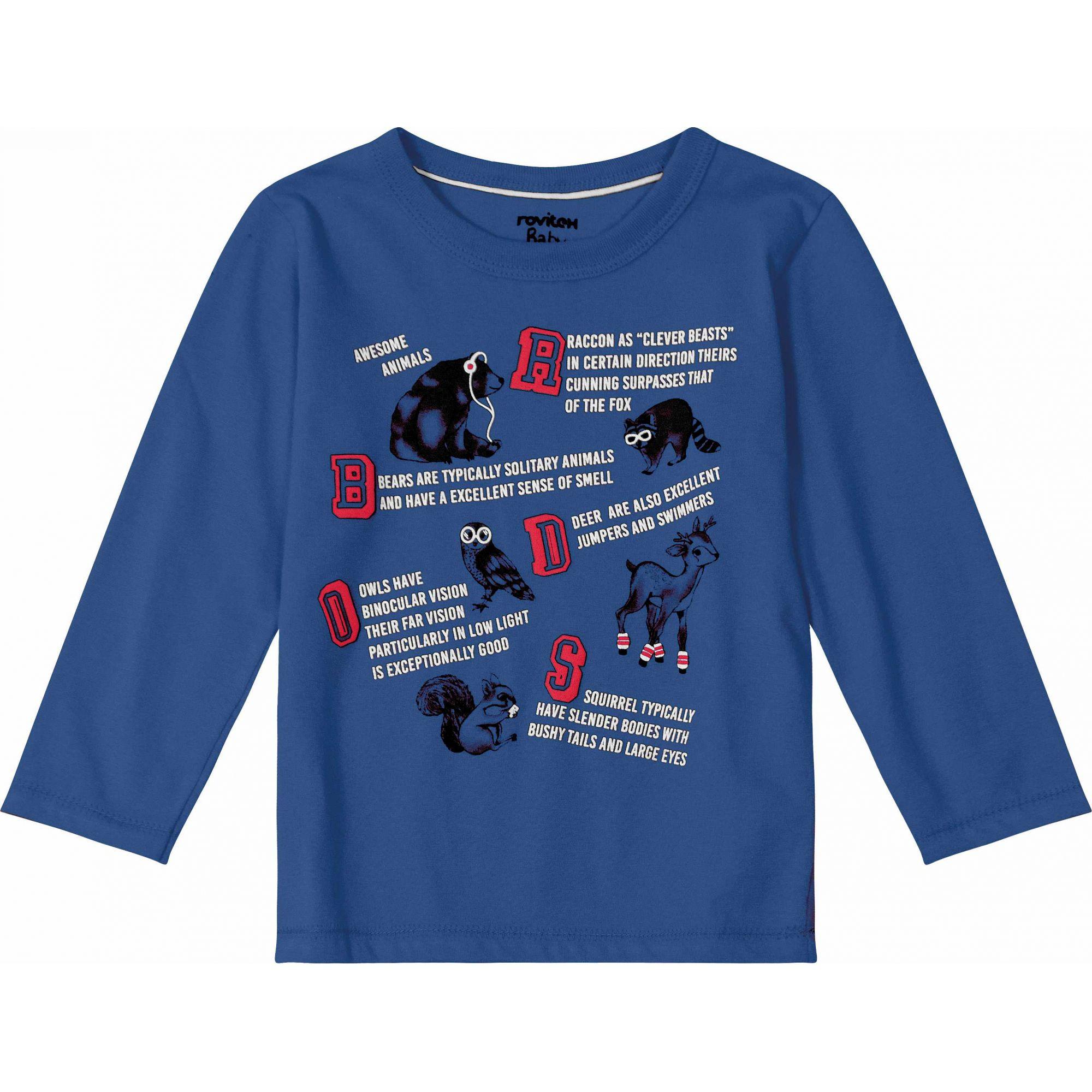 Camiseta Masculina Rovitex 3012361