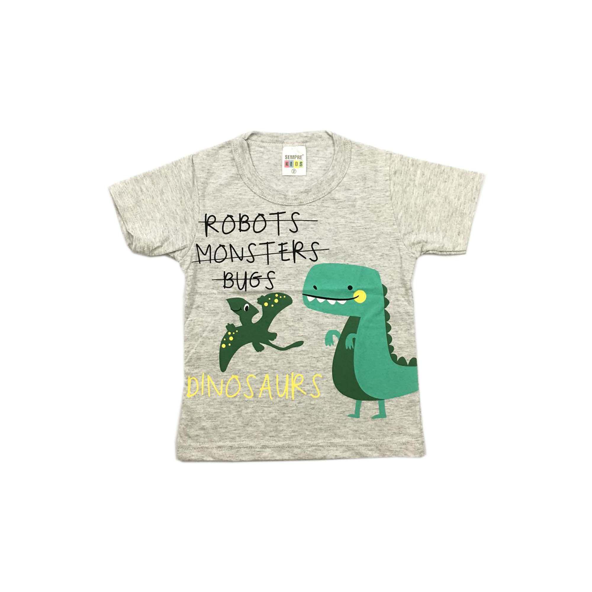 Camiseta Masculina Sempre Kids 6850