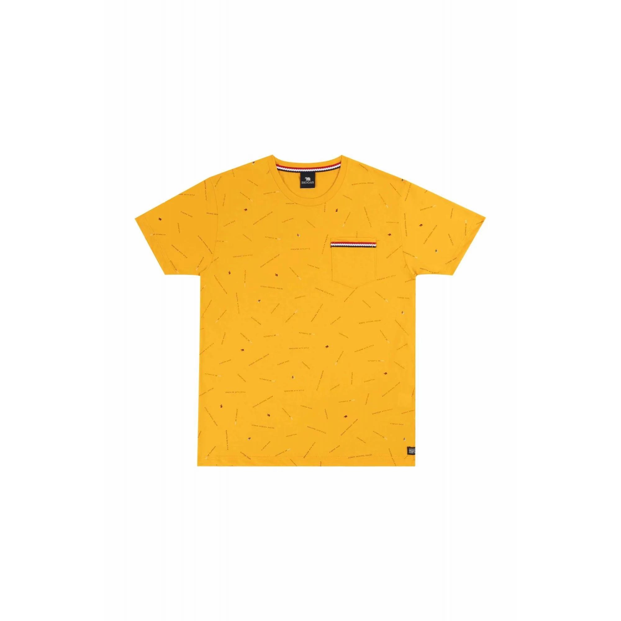 Camiseta Masculino Tr Juv Bg Amarelo 30079