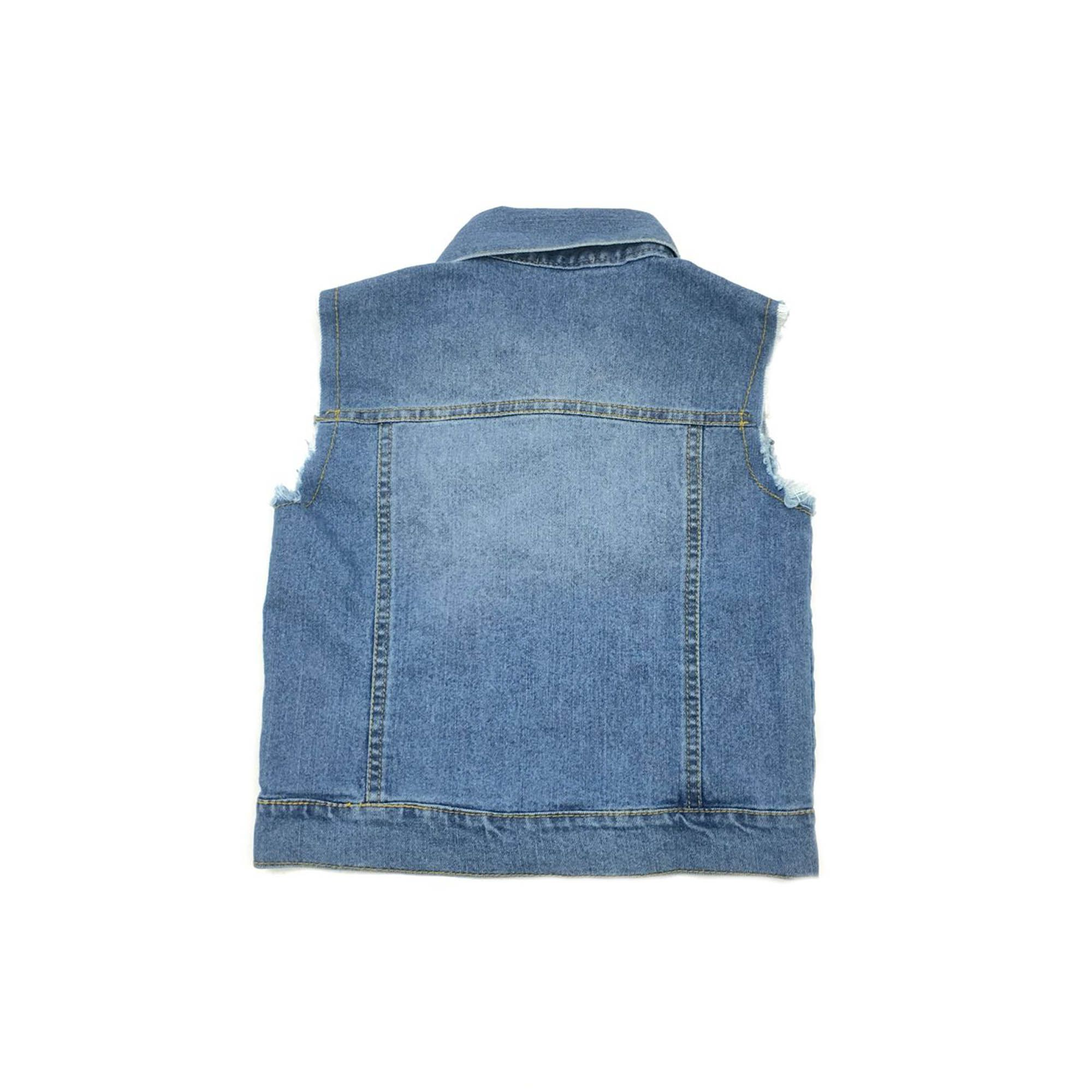 Colete Jeans Bambollina 10892