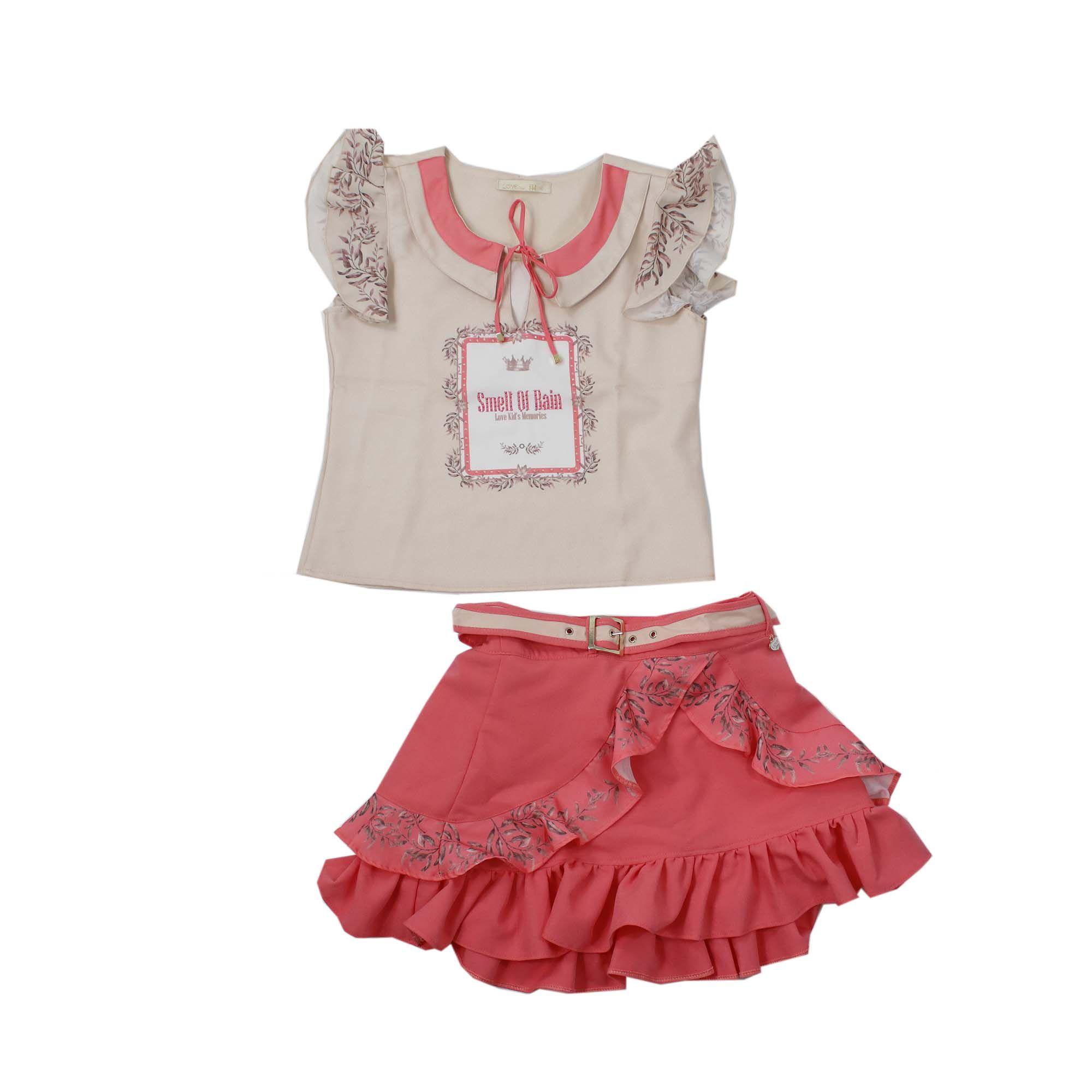 Conjunto Feminino Love Kids 040