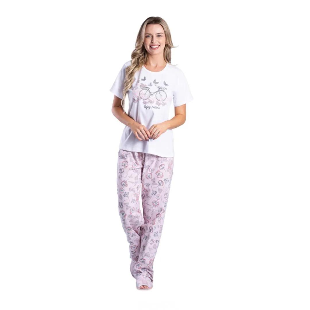 Pijama Feminino Composê 010900099