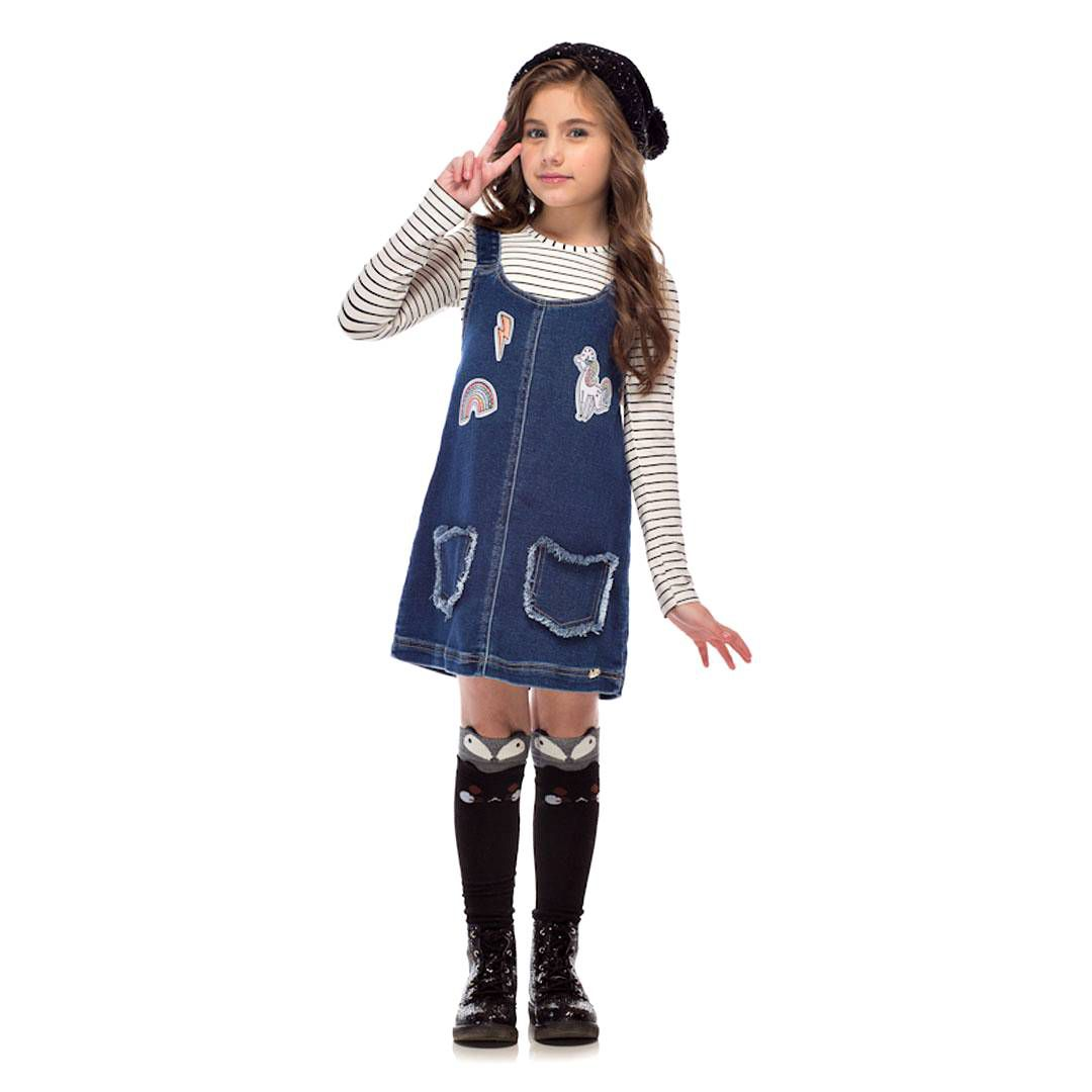 Vestido C/ Blusa  Kukiê 29518
