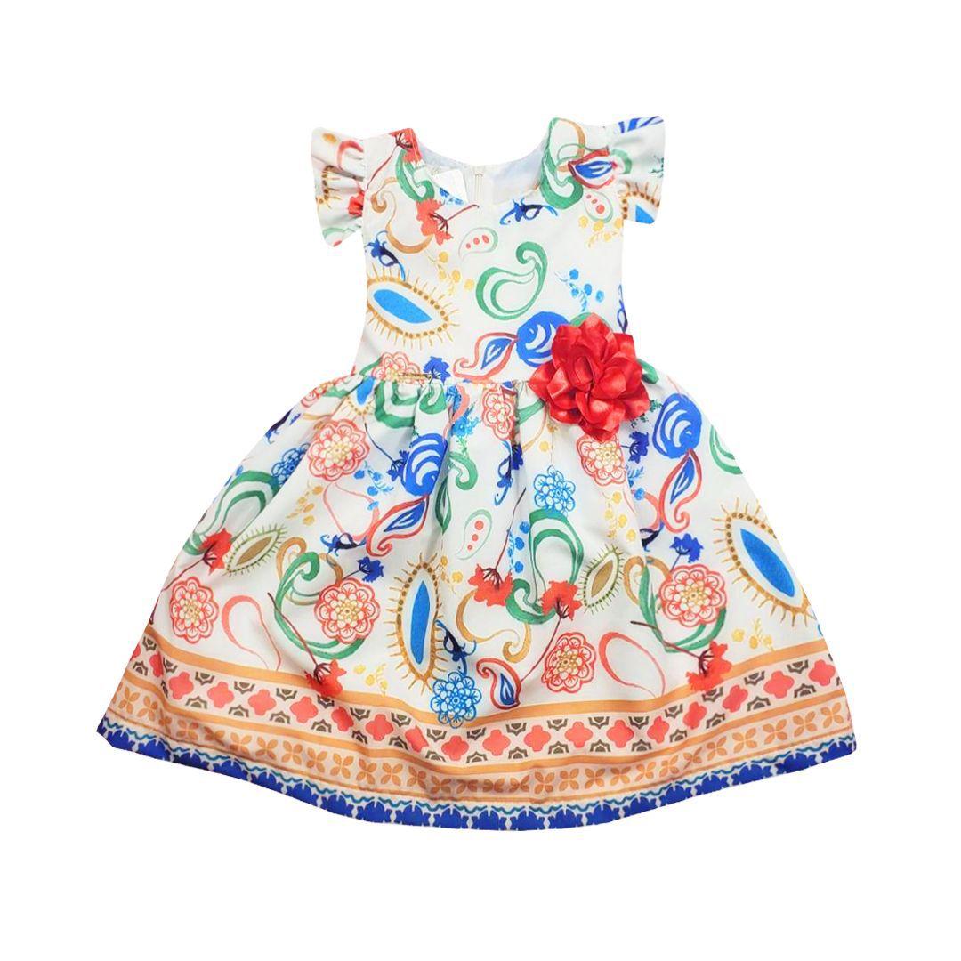 Vestido Feminino Brubella 2039