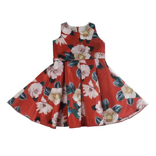 Vestido feminino Menina  de seda 0420