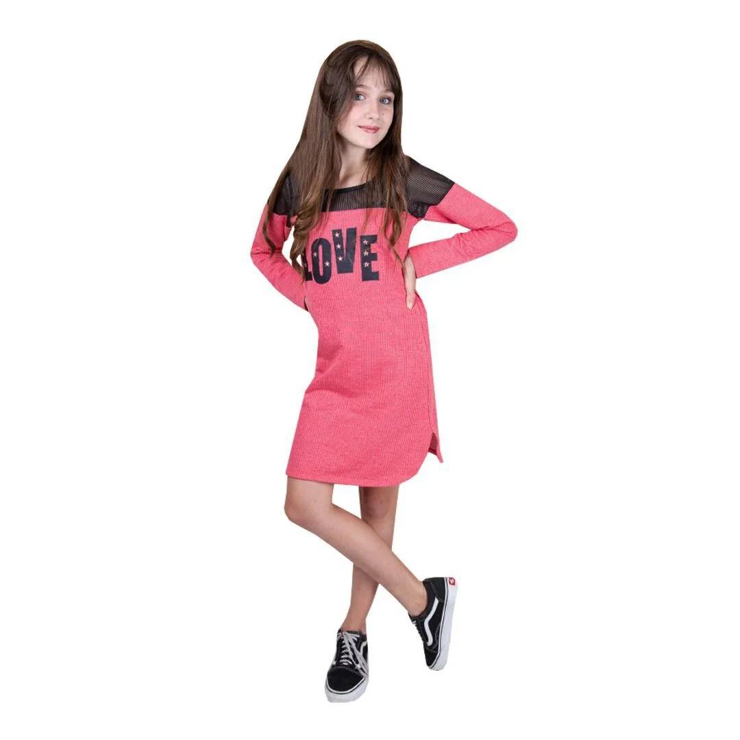 Vestido Feminino Garotada 06274
