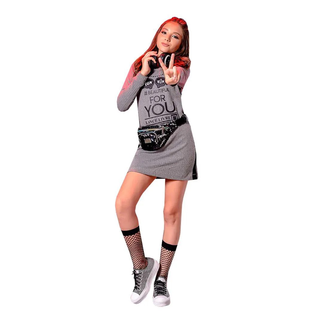 Vestido Feminino Lance Livre 5339