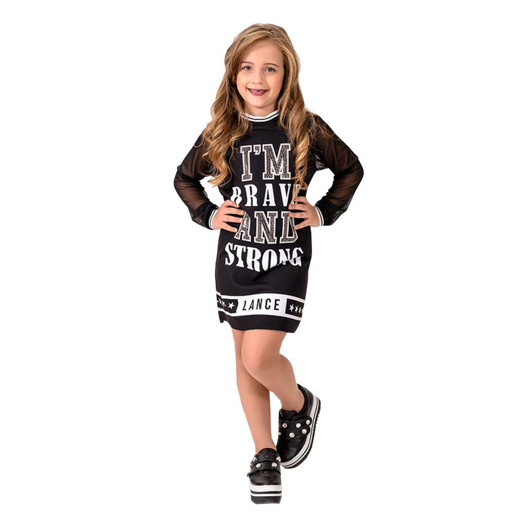 Vestido Feminino  Lance Livre  7602Ve