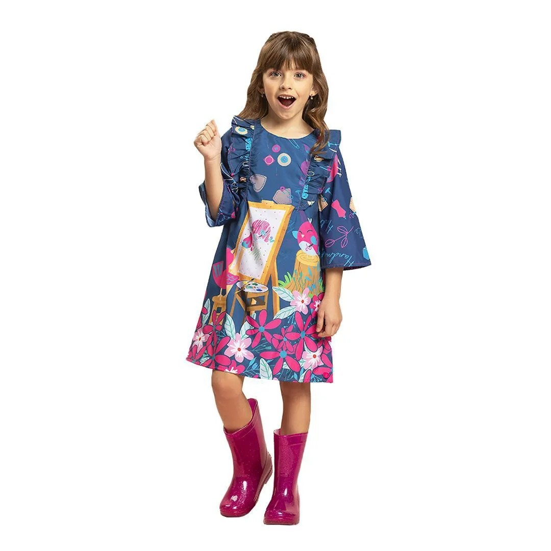 Vestido Feminino Malagah VT204001E7012