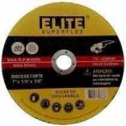 "Disco de Corte p/Inox 7""180x1.6x22mm - Elite"
