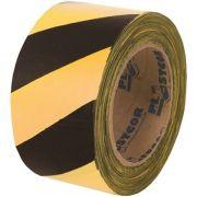 Fita Zebrada 70mm x 100M - Plastcor