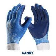Luva de Proteção Danny Gladiador Borracha Vulcanizada Azul CA 8082