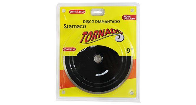 """Disco Diamantado Contínuo 9"""" - Stamaco"""