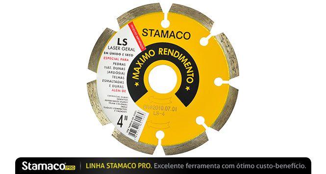 """Disco Diamantado LS 4"""" - Stamaco"""
