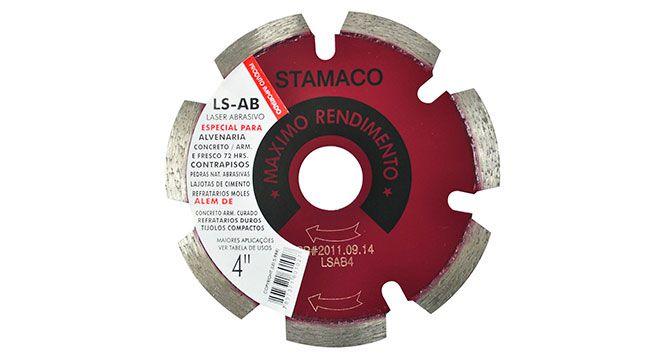"""Disco Diamantado LS-AB 4""""  - Stamaco"""
