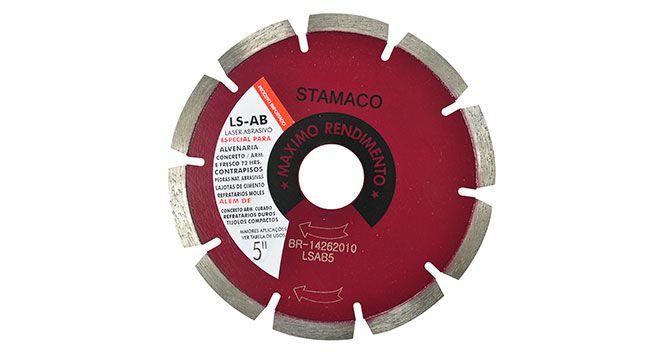 """Disco Diamantado LS-AB 5"""" - Stamaco"""