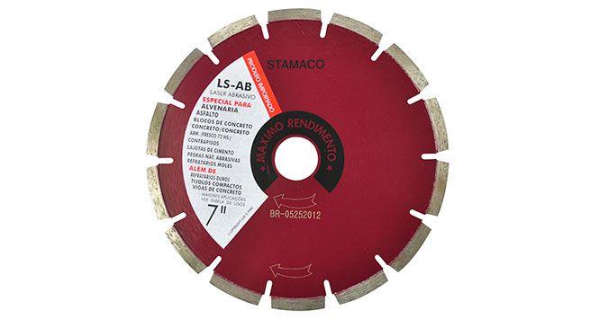 """Disco Diamantado LS-AB 7"""" - Stamaco"""