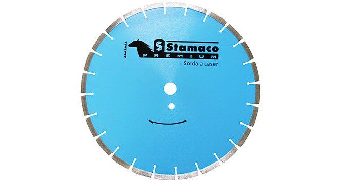 """Disco Diamantado Segmentado 14"""" 350mm - Stamaco"""