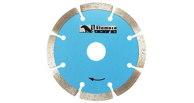 """Disco Diamantado Segmentado 4"""" 105mm - Stamaco"""