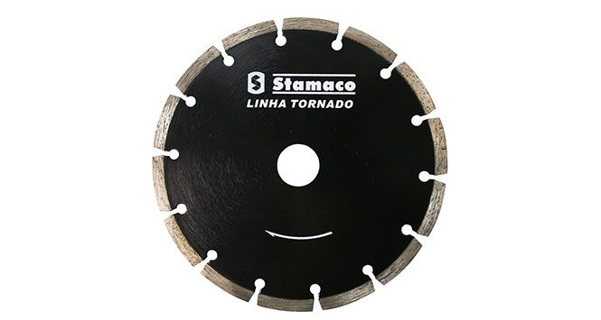 "Disco Diamantado Segmentado 7"" 180mm - Stamaco"