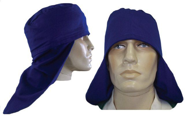 Touca  Soldador Brim  Azul - Grazia