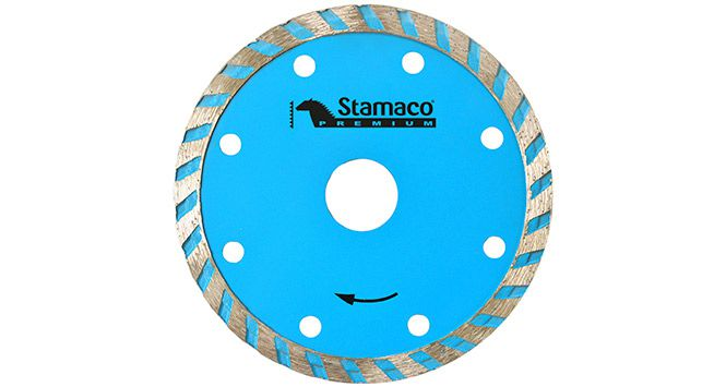 "Disco Diamantado Turbo 4"" 105mm - Stamaco"