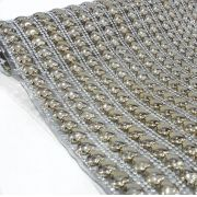 Manta Chaton ABS Coração - 12cm x 40cm - Altíssima Qualidade