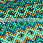 Manta Ilusion Verde - 24cm x 40cm