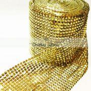 Manta Pirâmide Dourada - 1MT x 12CM - Altíssima Qualidade