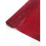 Micro Manta Vermelho - 24cm x 40cm