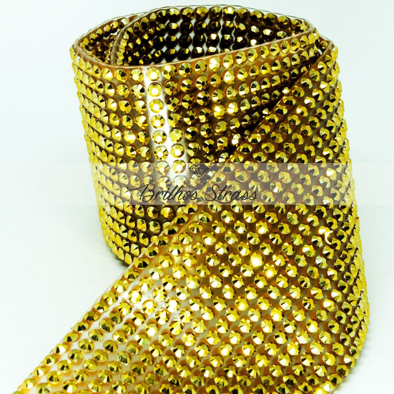 Manta Acrílica Dourada - 60cm x 40cm