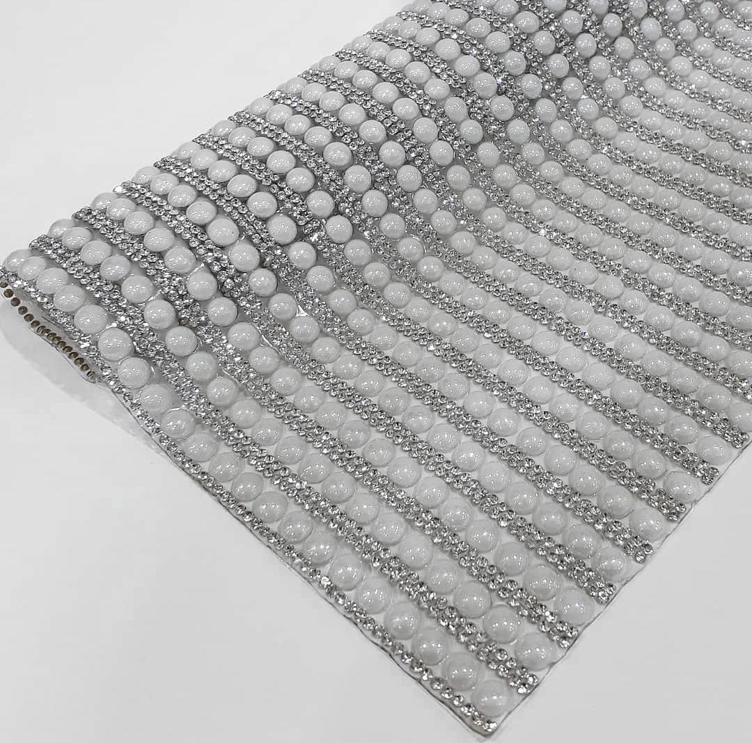 Manta Chaton Bolinha Branca - 12cm x 40cm - Altíssima Qualidade