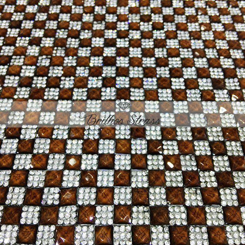 Manta Chaton Marrom - 12cm x 40cm - Altíssima Qualidade