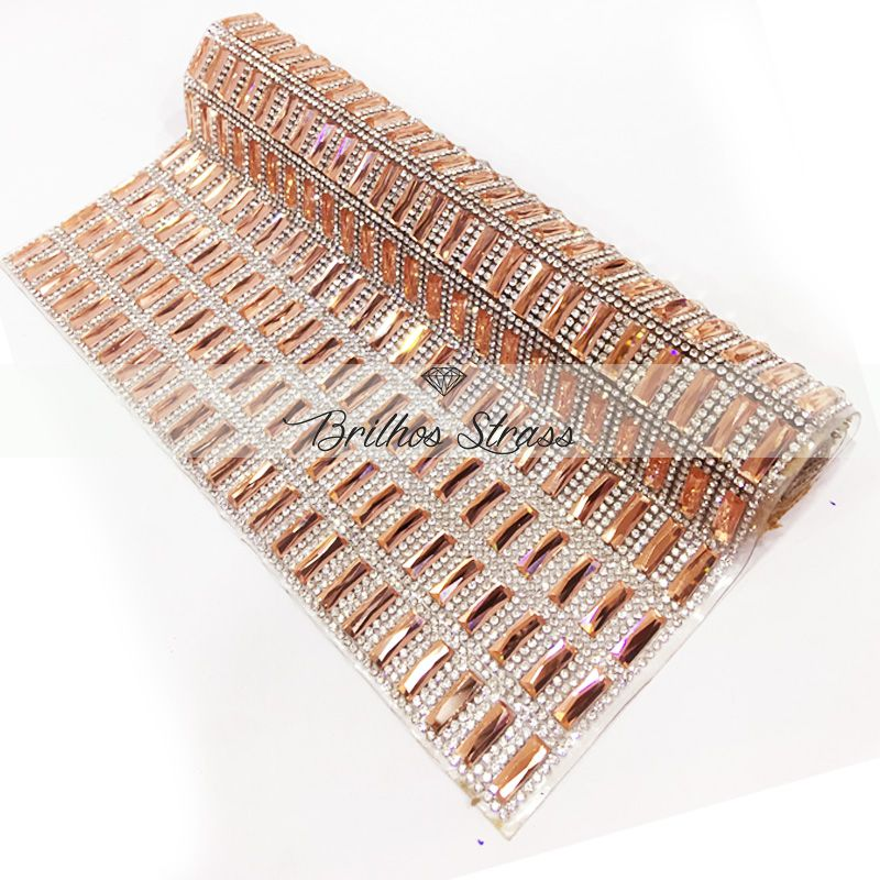 Manta Chaton Palito Rose - 12cm x 40cm - Altíssima Qualidade