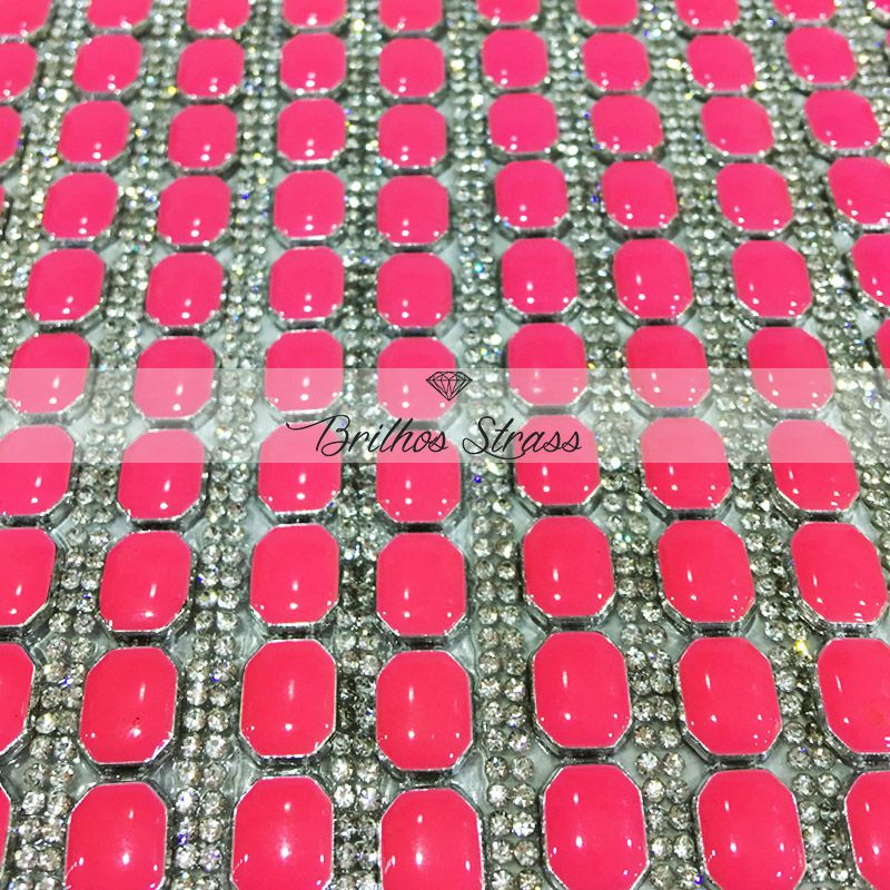 Manta Chaton Rosa - 12cm x 40cm - Altíssima Qualidade