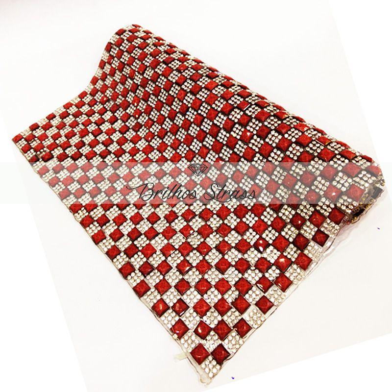 Manta Chaton Vermelha - 12cm x 40cm - Altíssima Qualidade