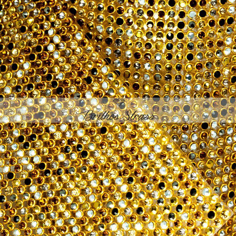 Manta De Strass Colorido Inverno - 60cm x 45cm