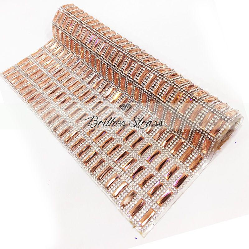 Manta Chaton Palito Rose - 24cm x 40cm - Altíssima Qualidade