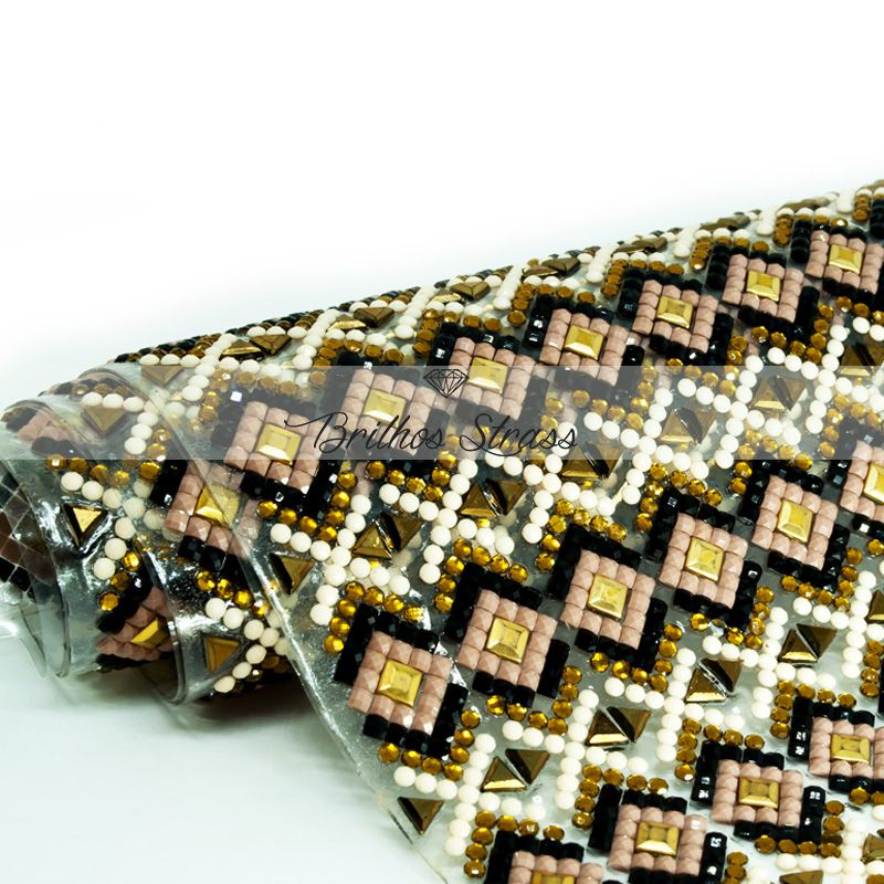 Manta Ilusion Marrom - 24cm x 40cm