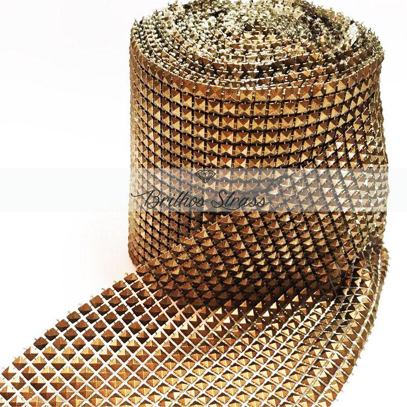 Manta Pirâmide Ouro Velho - 1MT x 12CM - Altíssima Qualidade
