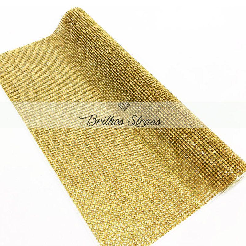 Micro Manta Dourada Topázio - 40x12
