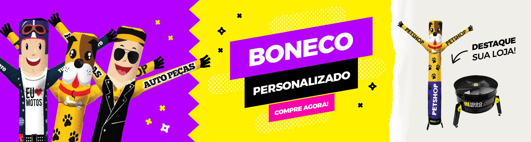 BONECO PERSONALIZADO